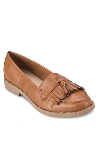 流蘇樂福鞋,esprit outlet 高雄 女鞋, 鞋
