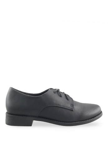 Footspot black FOOTSPOT - Minimal Lace-up Oxford Shoes FO296SH2VQAFHK_1