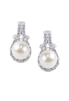 Mejestic Silver Earrings