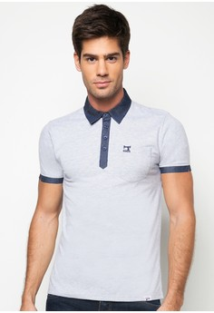 Slim Fit Combi Polo