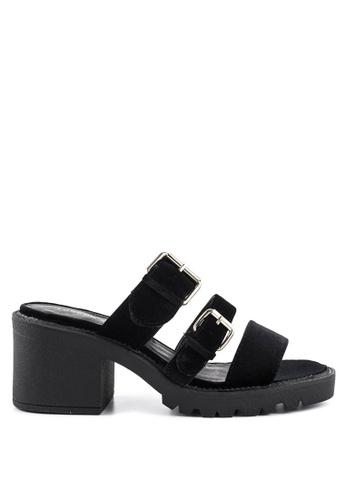 London Rag 黑色 黑色平底凉鞋 19761SHAD54CADGS_1