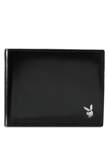 Playboy black Playboy Bi-Fold Wallet PL371AC0SK1DMY_1