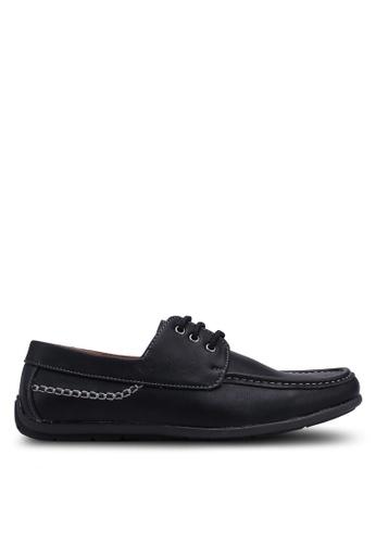 Rocklander black Lace Up Loafers EF96DSHFF5D4B0GS_1