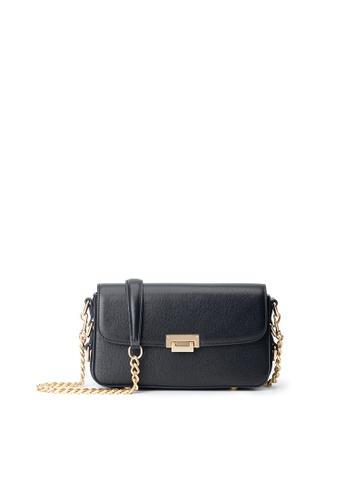 Maverick & Co. black Maverick & Co. Hera Leather Baguette Bag - Night Black 8B935AC62447A8GS_1