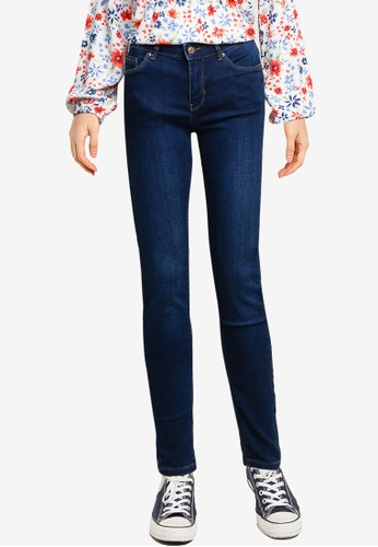 Springfield blue Classic Sustainable Skinny Jeans C3D72AADEE580DGS_1