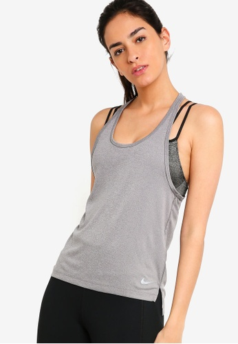9a3ddf8b063c98 Buy Nike As W Nike Miler Racer Tank Top Online on ZALORA Singapore