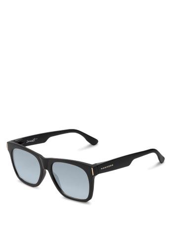 Hawkers black HAWKERS ? Black Silver SUNSET Sunnies 7DE00GLA945310GS_1