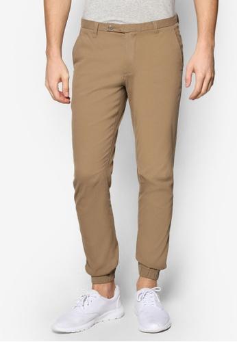Sparrow Green 褐色 Ed Slim Jogger Pants SP065AA46WLDMY_1