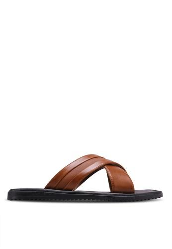 Call It Spring brown Olaossa Sandals CA512SH0RLIYMY_1