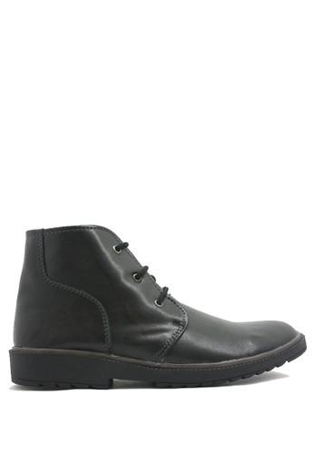 Dr. Kevin black Dr. Kevin Men Boots 1041 - Black DR982SH0UMLCID_1