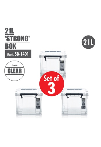 HOUZE [SET OF 3] HOUZE 21L 'STRONG' Box 0ED64HL926C902GS_1