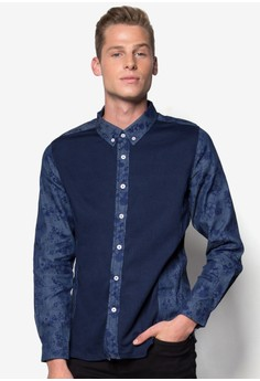 Long Sleeves Shirt with Print Details