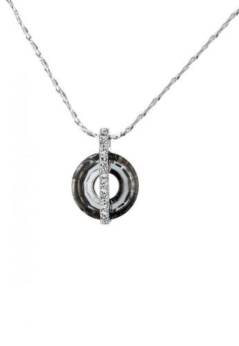 ADORA Black Pendent Necklace AD365AC2V52BHK_1