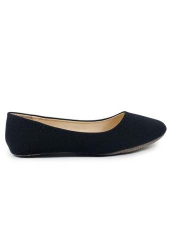 BNC black Flat Ballerina E9191SHE143FFAGS_1