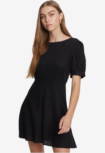 Savel black Court Mini Dress D20AAAAD8978E3GS_1