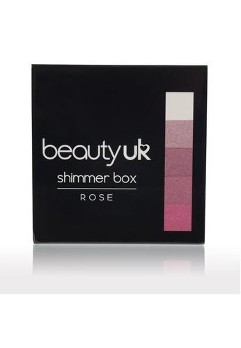 Beauty UK Shimmer Box no.2 Rose BE783BE66DKVSG_1