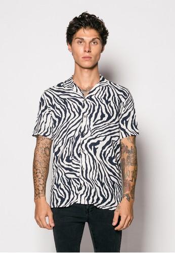 Gingersnap Bali multi Printed Men Maiko Short Sleeve Shirt 73D21AA3B4D745GS_1