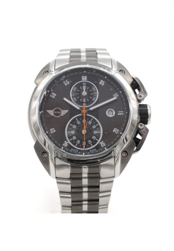 Mini grey Chronograph Watch MI057AC02BJTHK_1