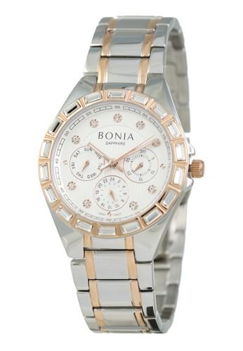 Bonia silver Bonia - BP10417-2617S - Jam Tangan Wanita - Silver Rosegold 49106AC09D13E7GS_1