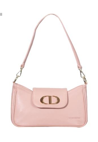 Verchini pink Verchini Classic Sling Handbag A708DAC30EDF92GS_1