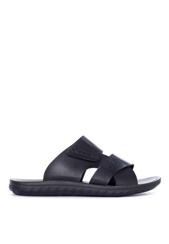 Italianos black Jake Sandals & Flip Flops IT153SH94GCZPH_1