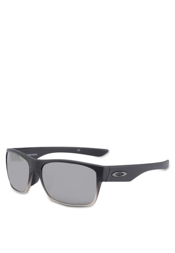 Oakley black Performance Lifestyle OO9256 Sunglasses 88164GL4DB186DGS_1