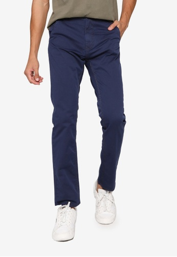 BLEND navy Basic Chino Pants 9A350AAABB6836GS_1