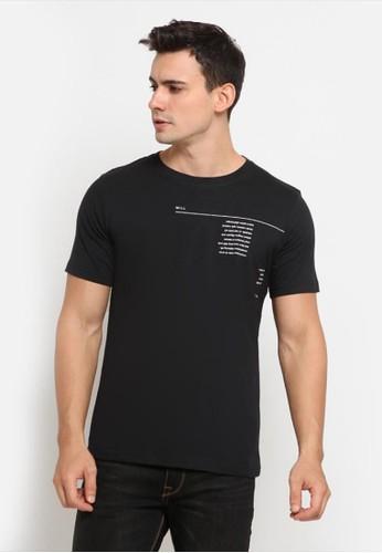 Will K Denim black Will K Grapbic T-Shirt SOTV Black 57ABBAA0E07BBCGS_1