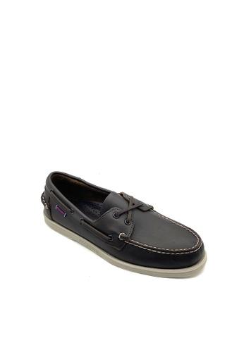 Sebago brown Men's Boat Shoes Docksides D700ASH59DE5F1GS_1