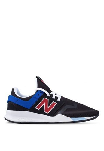 New Balance black and multi 247 Lifestyle Shoes DBAA0SH6B0CAA1GS_1