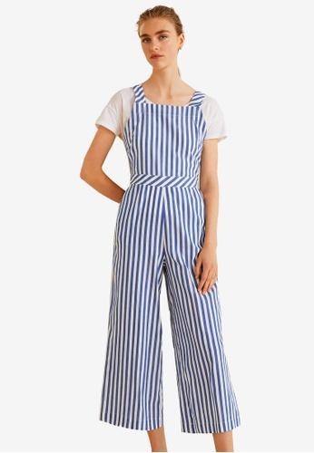 9c8d449e3ce0 Buy Mango Striped Cotton Jumpsuit