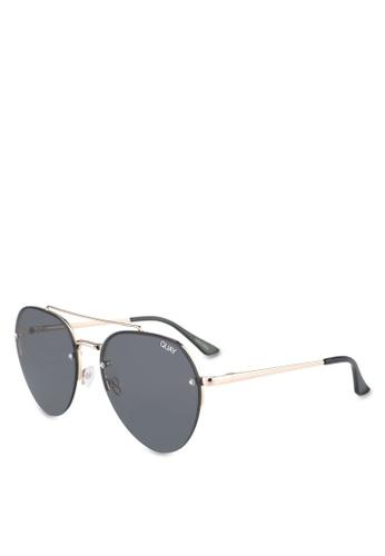 Quay Australia gold SOMERSET Sunglasses 5A102GL8336383GS_1
