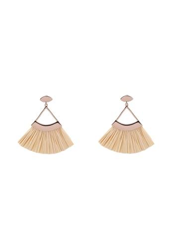 ALDO beige Colledara Pierced Earring 93883ACFCD0498GS_1