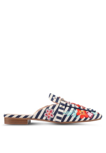 ALDO navy Adrelassi Backless Loafers C34BFSH0B16287GS_1