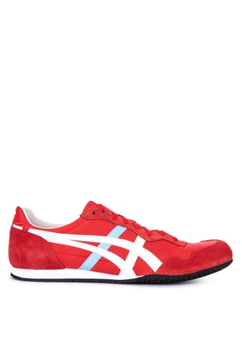 Onitsuka Tiger red Serrano  Sneakers B289FSH5765A89GS_1