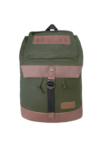 Chase Fashion green Maru Canvas Backpack CH547AC12MQHPH_1