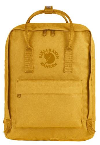 Fjallraven Kanken yellow Sunflower Yellow Re Kanken  Backpack 8FD66ACAD51184GS_1