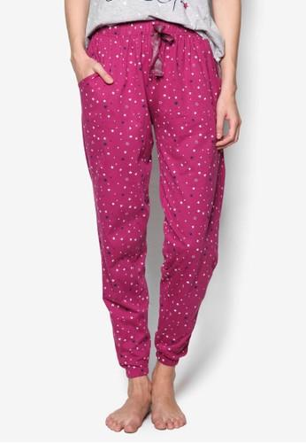 星星印花睡褲, 服飾esprit 台中, 睡褲