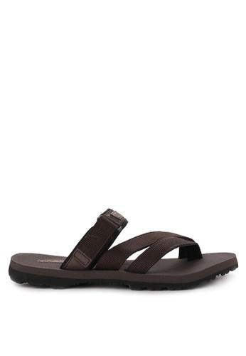 CARVIL brown Sandal Sponge Man F1C73SH1FDD06BGS_1
