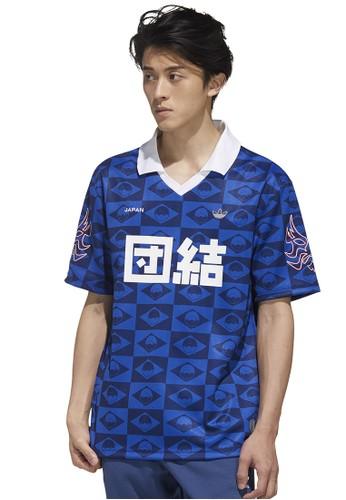 ADIDAS blue Japan Jersey E9B17AAB0A5995GS_1