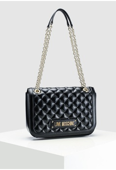 Love Moschino Quilted Shoulder Bag RM 1 2993bf70eaccb