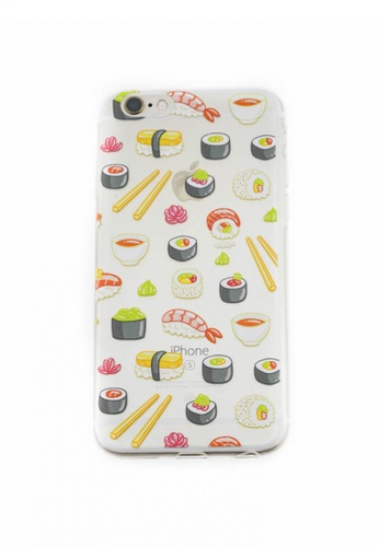 Fancy Cellphone Cases multi Sushi Soft Transparent Case for iPhone 6/6s FA644AC51YCYPH_1