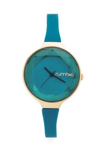 RumbaTime green and blue Rumbatime Orchard Gem Mini Watch Teal RU023AC17MUOHK_1