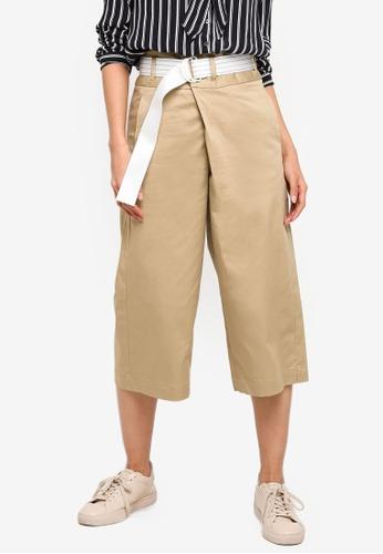 ESPRIT beige Woven Regular Pants 759F1AAEEE570EGS_1