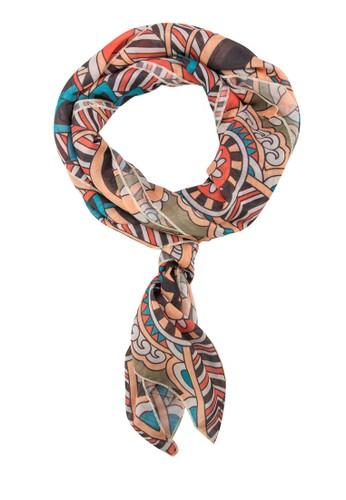 印花絲巾, 飾品配esprit 鞋件, 披肩