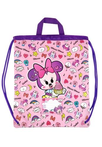 Disney Minnie pink Disney Minnie Mousee Too Cute Drawstring Bag 788D2KC1B69F01GS_1