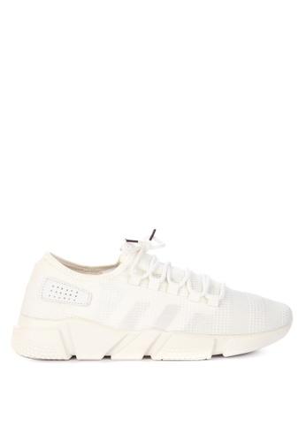 H2Ocean white Cason Lace up Sneakers D0DC9SHD69C528GS_1
