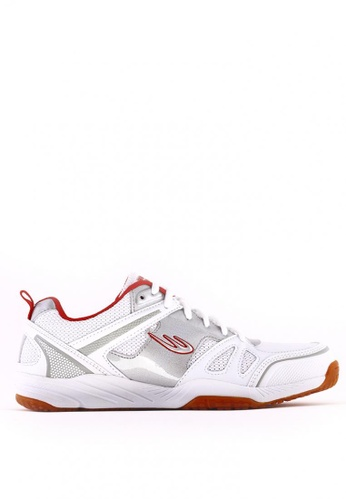 World Balance white Flash Court MS Sports Shoes 5FEE5SH2F0DCF6GS_1