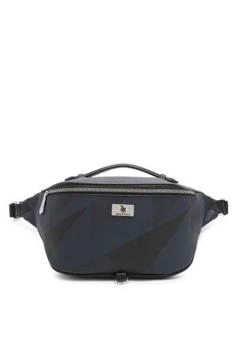 Swiss Polo blue Logo Bum Bag 23923AC64C56B7GS_1