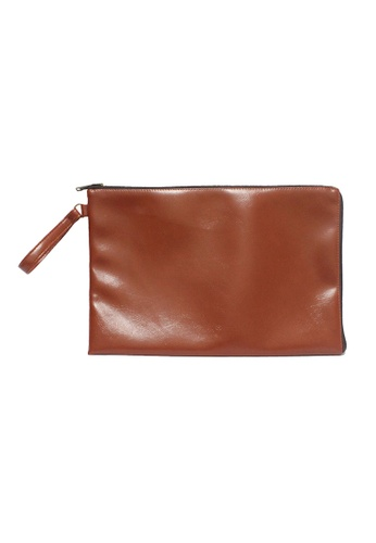 "Knocks brown 14/15"" Abner Laptop Case (Chestnut) KN307AC83OIASG_1"